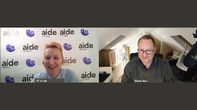 AIDE Canada starts a conversation with Kieran Rose about Masking