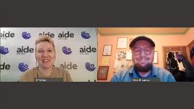 AIDE Canada starts a conversation with Dr. Wenn Lawson