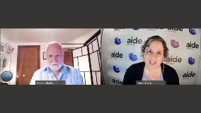 AIDE Canada starts a conversation with Dr. Anthony Bailey about Mental Health